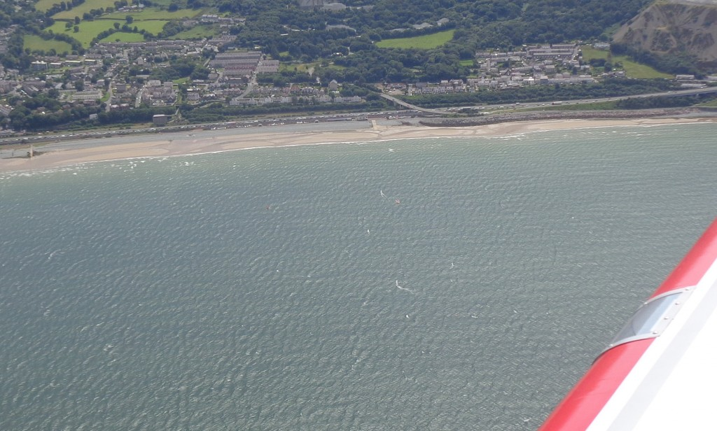 Pic taken by Gerry, Club Commodore from 1600 feet