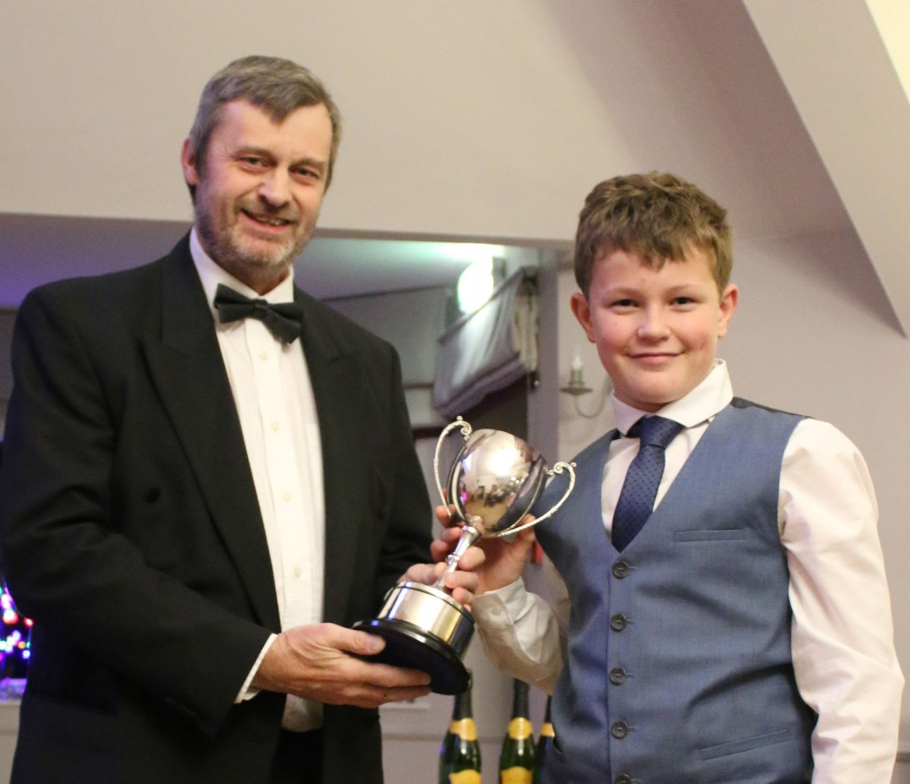 The Butterworth Cup outstanding Junior Daniel Blair