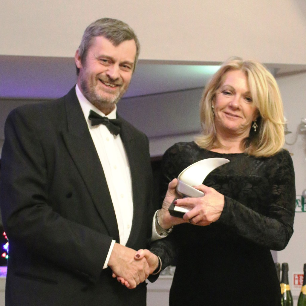 Commodore's Trophy for outstanding sailing Carol Pye